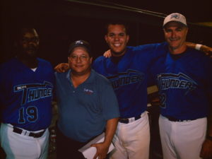 2007 Continental Baseball League champions Tarrant County Blue Thunder