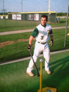 Adam Yates Lewisville Lizards batting cage