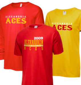 Alexandria Aces Continental Baseball League Merchandise