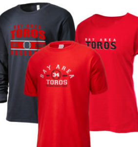 Bay Area Toros Continental Baseball League Merchandise