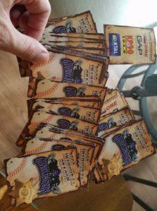 Texarkana Gunslingers Pocket Schedules (photo from Brendan Rubenstein)