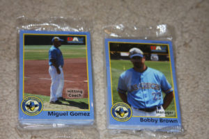 2010 las cruces vaqueros baseball card set