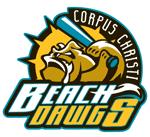 Corpus Christi Beach Dawgs 2008 CBL Baseball Logo