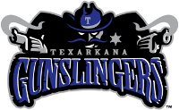 texarkana gunslingers logo continental baseball league