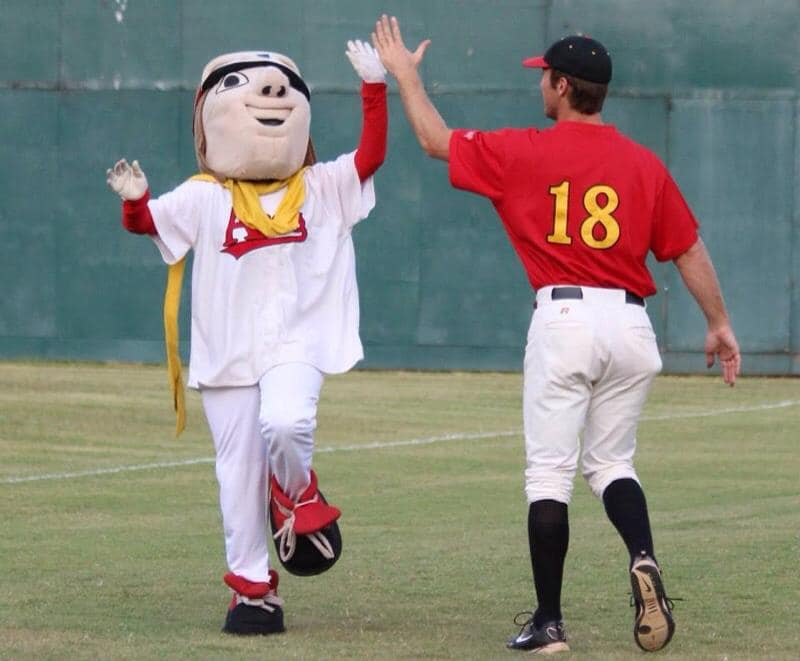 alexandria aces player and mascot 2009 CBL