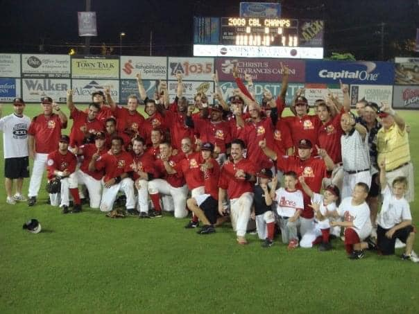 2009 Alexandria Aces Win Continental Baseball League Championship