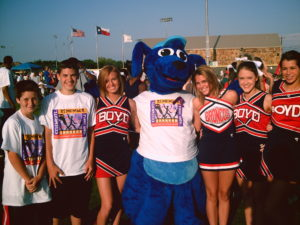 Thunder Dog with fans